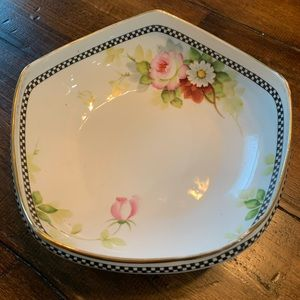 Rare five sided Noritake Hand Painted Bowl